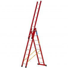 Zarges Skymaster 3-Part GRP Combination Ladder