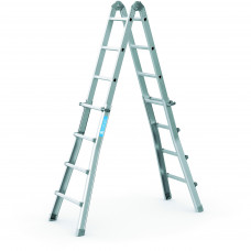 Zarges Variomax V 4-section, Hinged Telescopic Ladder
