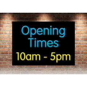 Opening Times 10am - 5pm