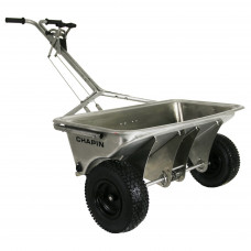 Chapin 8500B Stainless Steel Professional Salt Drop Spreader, Heavy Duty - assembled, ready to use