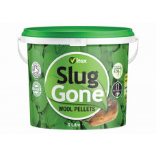 Vitax Slug Gone Wool Pellets, 10 litre