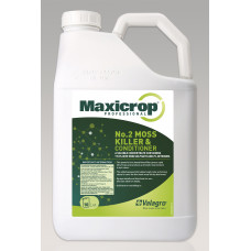 Maxicrop No 2 Lawn Moss Killer & Conditioner, 10 ltr