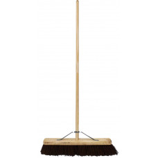"Tudor Contractor Platform Broom - 24"" bassine filled"