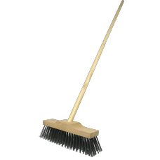 Wire Broom Head - plus handle