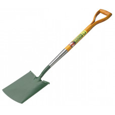 "Bulldog Premier Tall Garden Treaded Spade, 32"" handle"