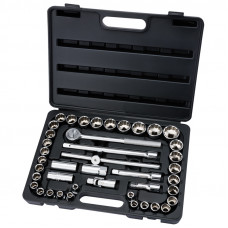 "Draper 42pc Socket Set ½"" SQ DR MM/AF Combined"