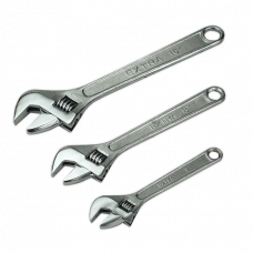 Sealey SO448 3pc Adjustable Wrench Set