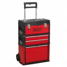 Sealey 3 Compartment Mobile Toolbox
