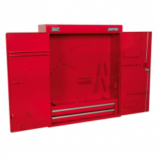 Sealey Wall Mounted Tool Cabinet with 2 Drawers
