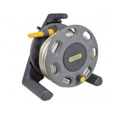 Hozelock 2412 Freestanding Compact Hose Reel + 25m of 12.5mm Hose