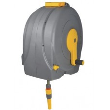 Hozelock 2496 Wall Mounted 40m Fast Reel + 40m of 12.5mm Hose
