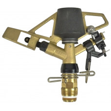 Heavy-duty Adjustable Brass Full or Part Circle Sprinkler Head ¾""