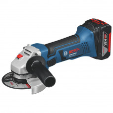 "BOSCH GWS 18 V-LI 18V 4AH LI-ION 4½"" CORDLESS ANGLE GRINDER with or without batteries"