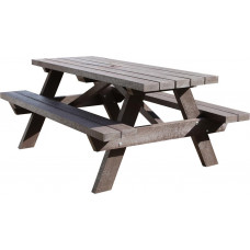 Barbican Recycled 8 Seater Picnic Table