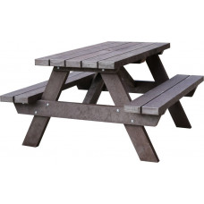 Barbican Recycled 6 Seater Picnic Table