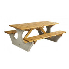 Concrete Framed Picnic Bench