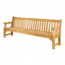 Warwick Roble Park Bench, 8'