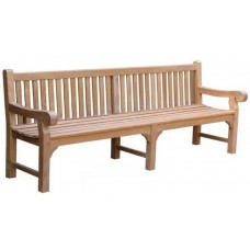 Britannia Bench Seat with centre leg, 8'