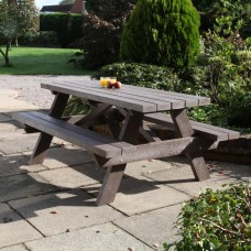 Recycled 8 Seater Picnic Table