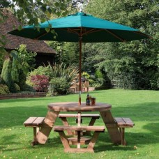Broadway™ Circular 8 Seater Picnic Table