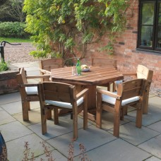Padstow 6 Seater Family Table