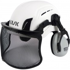 KASK Climbing Helmet Set with 'chipper' muffs