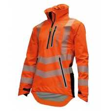 BreatheDry® Waterproof Smock - Hi-Vis Orange