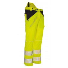 Arbortec 'Breatheflex' Hi-Vis Yellow Chain Saw Trouser