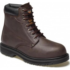 Dickies Cleveland Welted Safety Boot - Brown