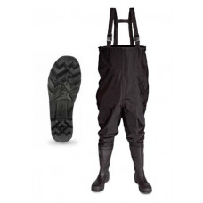 Thames Black Midsole PVC Safety Chest Wader