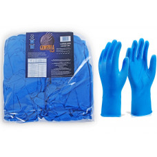 Disposable Nitrile Diamond Grip Gloves - low stock
