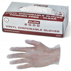 Disposable Gloves - Vinyl , box of 100