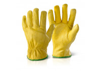 Lined Hide Drivers Gloves