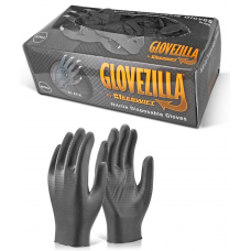 Glovezilla Nitrile Disposable Gripper Glove