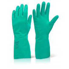 "Nitrile Spraying Gloves, 13"" - alternative to disposable gloves"