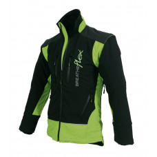 Arbortec Breatheflex Pro Work Jacket - Black/Lime