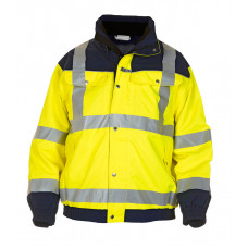 Hydrowear 'Furth' SNS Hi-Vis Contrast Waterproof & Breathable Pilot Jacket - Yellow