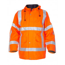 Hydrowear 'Uithoorn' SNS Waterproof & Breathable Parka - Hi-Vis Orange