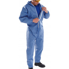 Semi-disposable Protective Coverall - Blue coloured - size small only