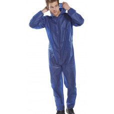 Disposable Coverall/Boilersuit - Navy - pack 50