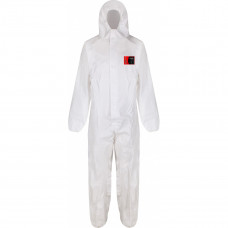 Disposable Microporous Coverall - Type 5&6 , White