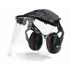 Husqvarna Perspex Visor & Cover with hearing protection