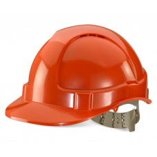 Vented Safety Helmet - Orange