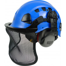 Petzl Vertex® Vent Climbing Helmet Set with 'chipper' muffs