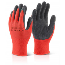 Latex/Poly Grip Gloves