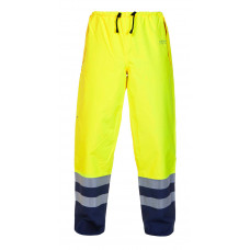 Hydrowear 'Neede' SNS Waterproof & Breathable Trousers - Hi-Vis Yellow Blue