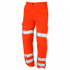 Hi-Vis Orange Ballistic Trouser, EN388