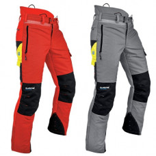 Pfanner Ventilation Type A Chainsaw Trousers - Grey or Red