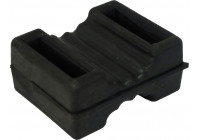 Toms 01 Rubber Slotted Buffer Pads