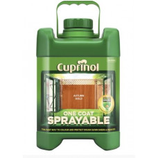Cuprinol One Coat Sprayable Fence Treatment, 5 L - Autumn Gold